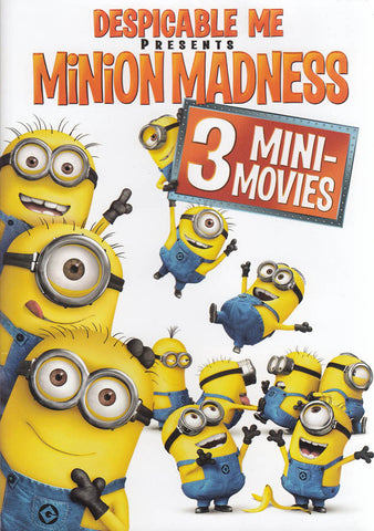 Despicable Me Presents - Minion Madness DVD Movie