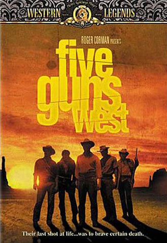 Five Guns West DVD Movie