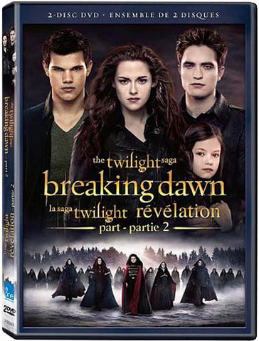 The Twilight Saga - Breaking Dawn, Part 2 (Two-Disc Special Edition)(Bilingual) DVD Movie