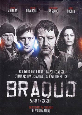Braquo - Season 1 (Bilingual) DVD Movie