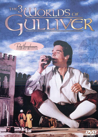 The 3 Worlds of Gulliver (2001 Cover Layout) DVD Movie