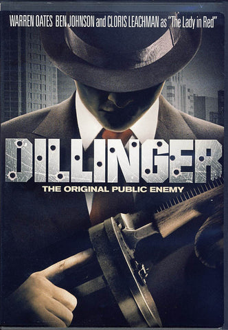 Dillinger (Warren Oates) (Black Cover) DVD Movie
