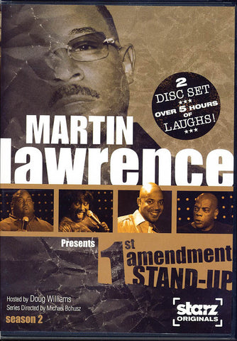 Martin Lawrence Presents 1st (First) Amendment Stand-Up - Season 2 DVD Movie