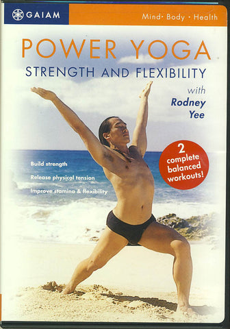 Power Yoga - Strength and Flexibility DVD Movie
