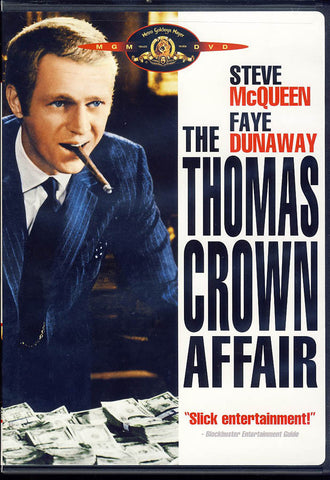 The Thomas Crown Affair (Steve McQueen) (White Cover) (MGM) DVD Movie
