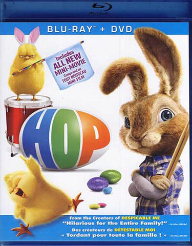Hop (Blu-ray + DVD) (Bilingual) (Blu-ray) BLU-RAY Movie