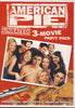 American Pie - Unrated 3-Movie Party Pack (American Pie / American Pie 2 / American Wedding) DVD Movie