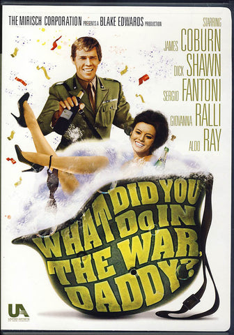 What Did You Do in the War, Daddy? DVD Movie