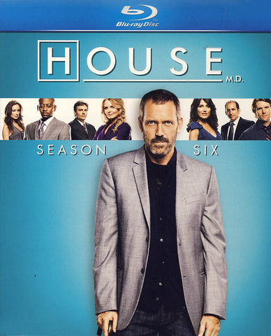 House, M.D. - Season Six (Blu-ray) (Boxset) BLU-RAY Movie