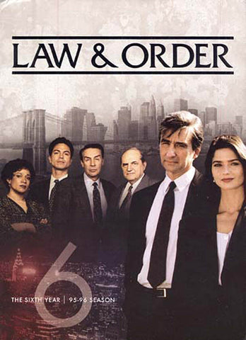 Law and Order The Sixth Year (1995-1996 Season) (Boxset) DVD Movie