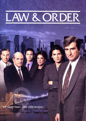 Law and Order The Ninth (9) Year (1998-1999 Season) DVD Movie