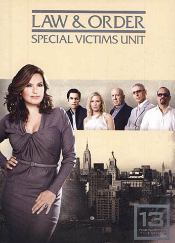 Law And Order - Special Victims Unit - The Thirteenth Year (13) (Boxset) DVD Movie