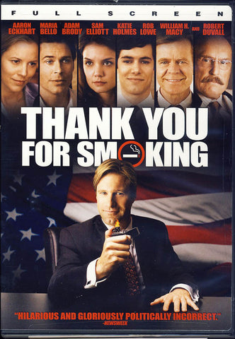 Thank You for Smoking (Fullscreen) DVD Movie