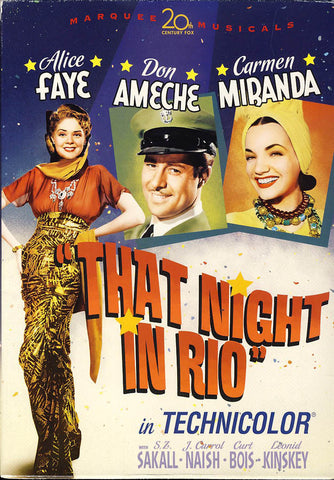 That Night in Rio (Fox Marquee Musicals) DVD Movie