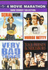 4 Movie Marathon Dark Comedy Collection (Serial Mom / Nurse Betty / Very Bad Things / Your Friends & DVD Movie