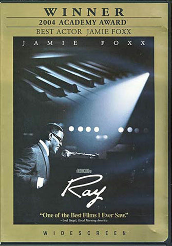 Ray (2004 Academy Award Winner cover) DVD Movie