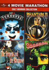 4 Movie Marathon - Cult Horror Collection (The Funhouse / Phantasm II / The Serpent and the Rainbow