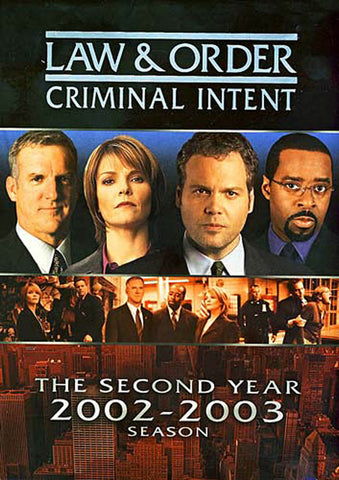 Law and Order Criminal Intent - The Second Year (2002-2003) season (Boxset) DVD Movie