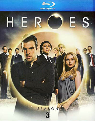Heroes - Season Three (3) (Blu-ray) (Boxset) BLU-RAY Movie