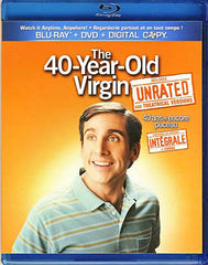 The 40-Year-Old Virgin Unrated (Blu-ray + DVD) (Bilingual) (Blu-ray)