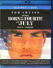 Born on the Fourth of July (Blu-ray + DVD) (Bilingual)(SLipcover) (Blu-ray)