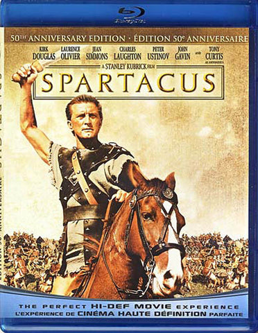Spartacus (50th Anniversary Edition) (bilingual) (Blu-ray) BLU-RAY Movie