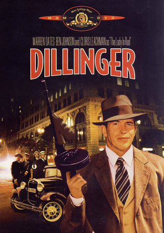 Dillinger (Red Writing) (MGM) DVD Movie
