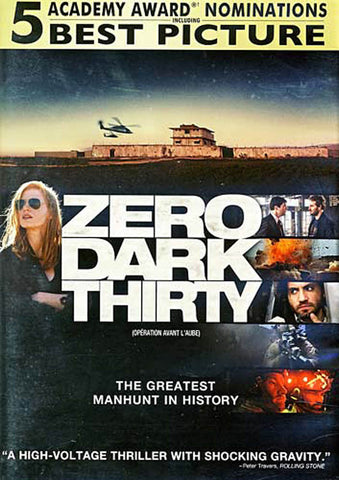 Zero Dark Thirty (Widescreen Edition) DVD Movie