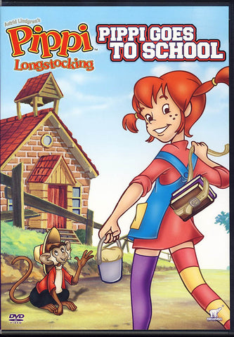 Pippi Longstocking Goes To School DVD Movie