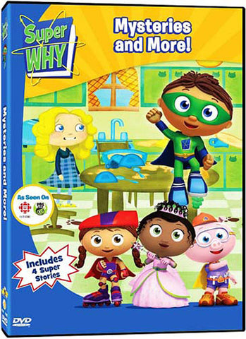 Super Why - Mysteries and More! DVD Movie