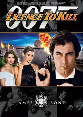 Licence To Kill (James Bond) DVD Movie