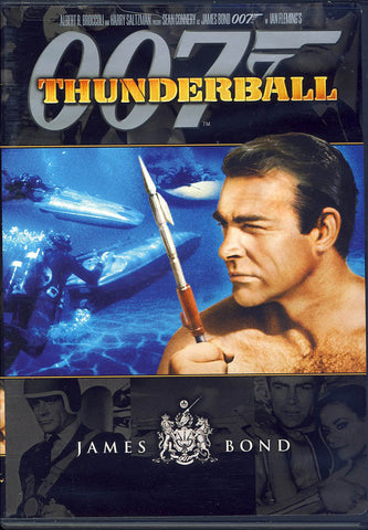 Thunderball (Black Cover) (James Bond) DVD Movie