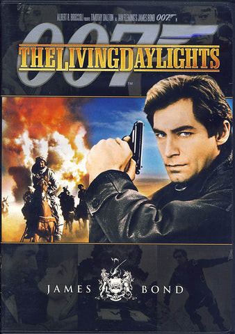 The Living Daylights (Black Cover) (James Bond) DVD Movie