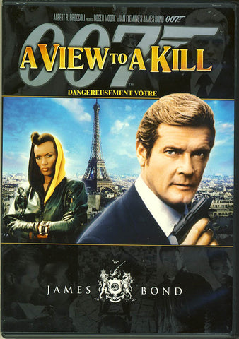 A View to a Kill (Single Disc) (MGM) (James Bond) (Bilingual) DVD Movie