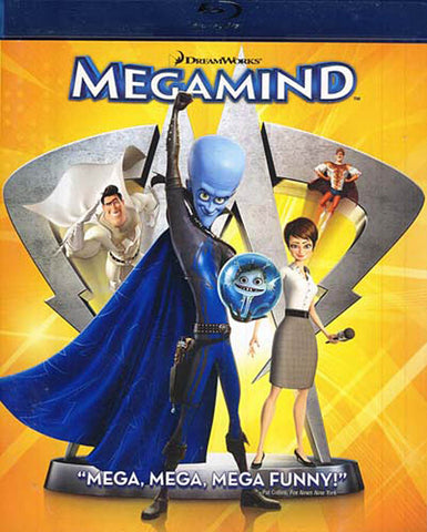 Megamind (Blu-ray) BLU-RAY Movie