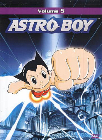 Astro Boy Vol. 5 DVD Movie
