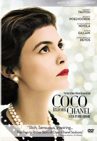 Coco Before Chanel DVD Movie