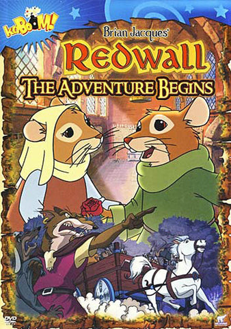 Redwall - The Adventure Begins DVD Movie