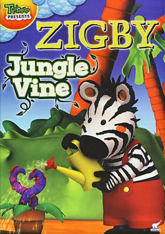 Zigby - Jungle Vine DVD Movie