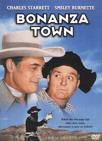 Bonanza Town DVD Movie