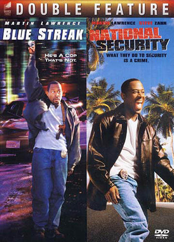 Blue Streak/National Security (Double Feature) DVD Movie