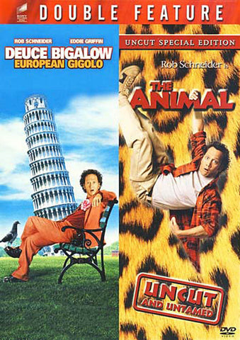 Deuce Bigalow - European Gigolo / The Animal (Double Feature) DVD Movie