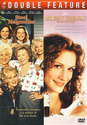 Steel Magnolias / My Best Friend's Wedding DVD Movie