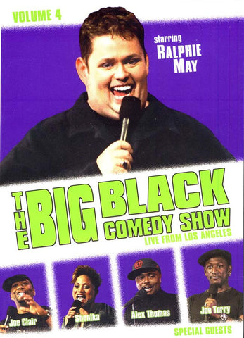 The Big Black Comedy Show, Vol. 4: Live From Los Angeles DVD Movie