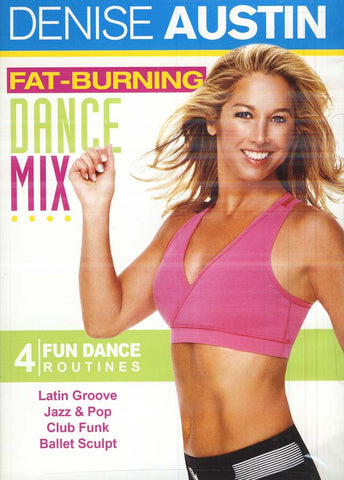 Denise Austin - Fat Burning Dance Mix (LG) DVD Movie