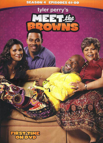 Meet the Browns - Season 4 (Four) (Episodes 61-80) (Boxset) (LG) DVD Movie