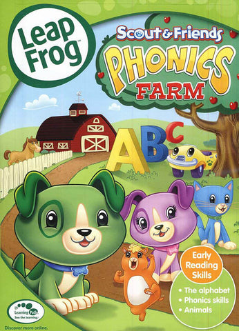 Leap Frog- Phonics Farm (LG) DVD Movie