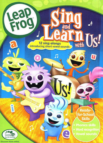 Leap Frog - Sing and Learn With Us! (LG) DVD Movie