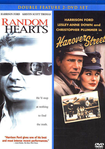 Random Hearts / Hanover Street (double feature) DVD Movie