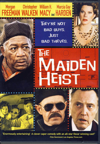 The Maiden Heist (Bilingual) DVD Movie